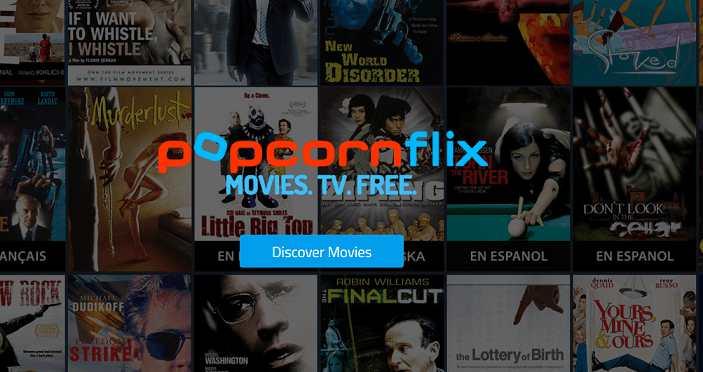 PopcornFlix website