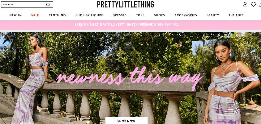 Pretty Little Things website