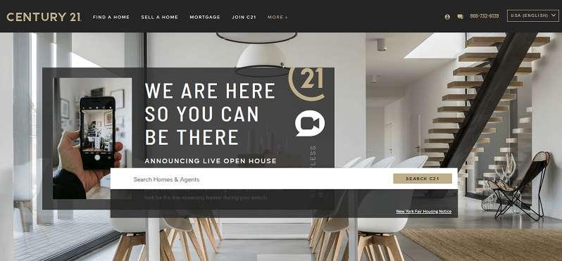 Century 21 website