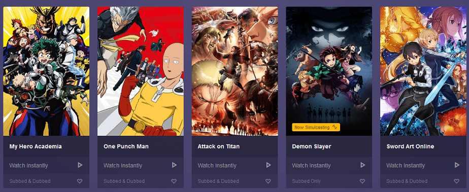 AnimeLab website for animi streaming