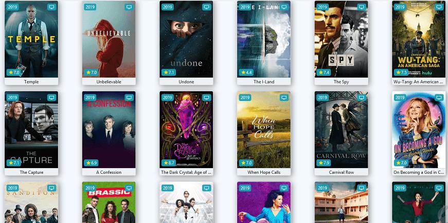 Flixtor website for TV series