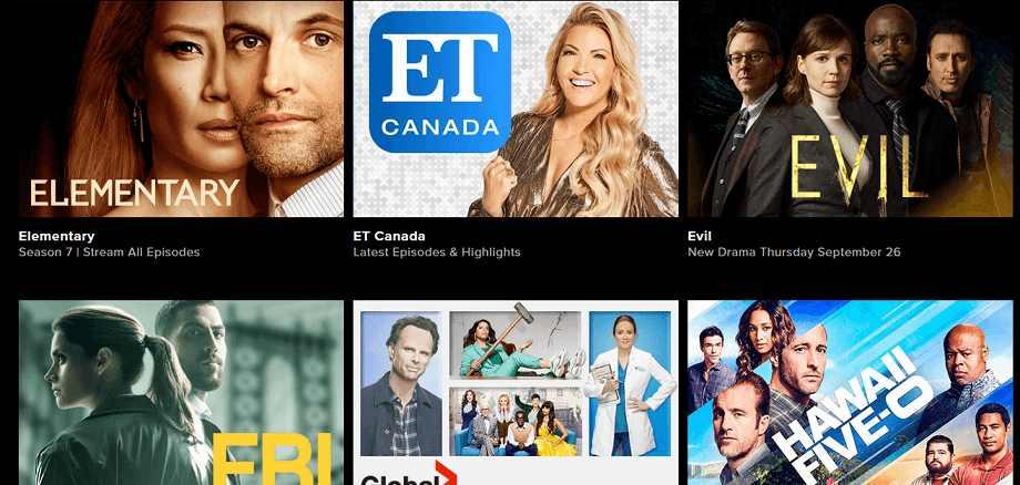 GlobalTV website