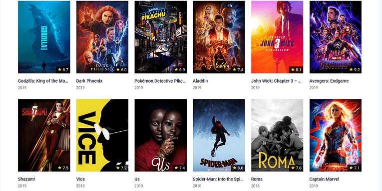 GoMovies website for watching movies free