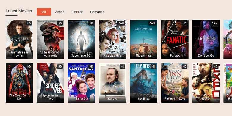 SolarMovie website to watch latest movies
