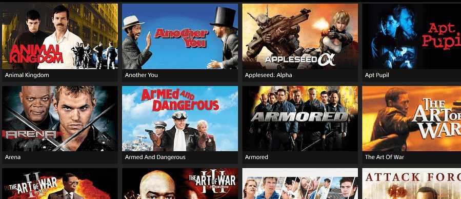 SonyCrackle website for movie download