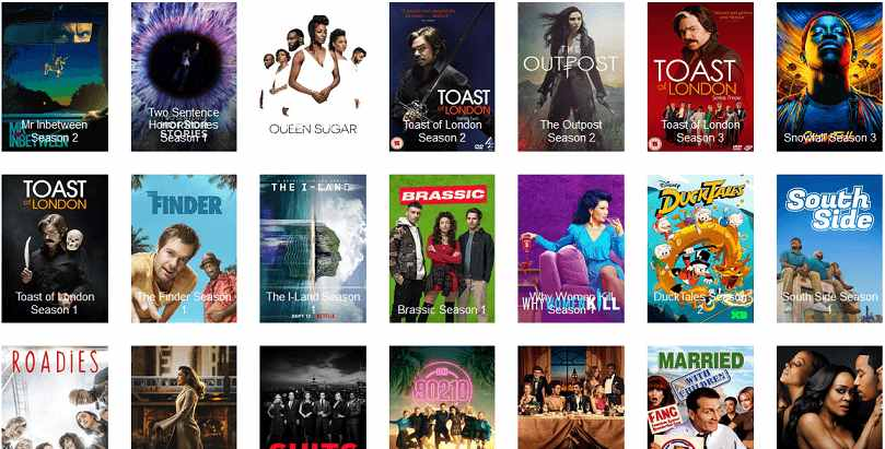 Vumoo website to watch TV series online free
