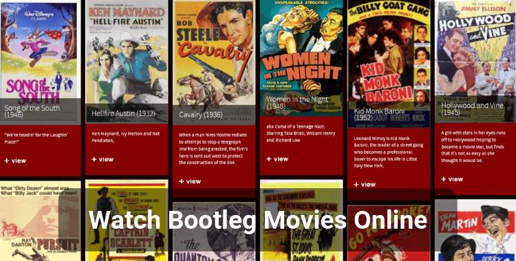 20 Best Sites to Watch Bootleg Movies Online for Free