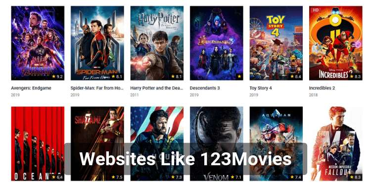 14 Best Sites Like 123Movies
