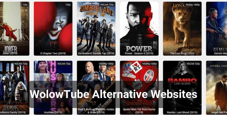 Top 15 WolowTube Alternatives to Watch Movies Online