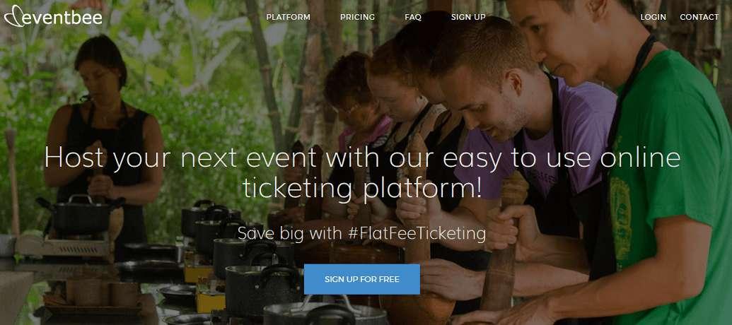 EventBee website