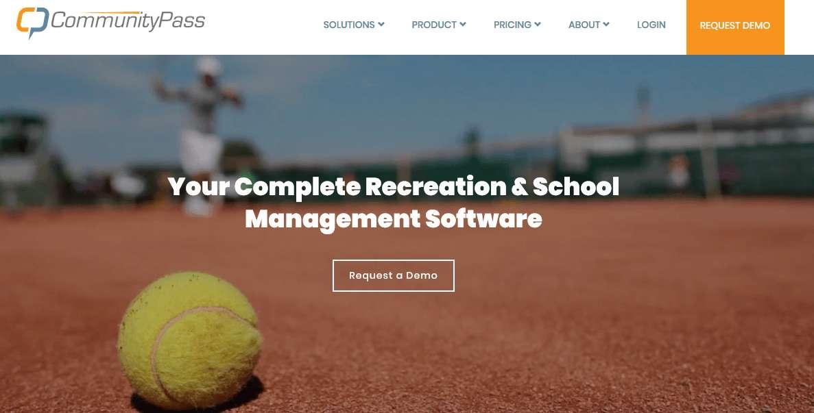 CommunityPass website