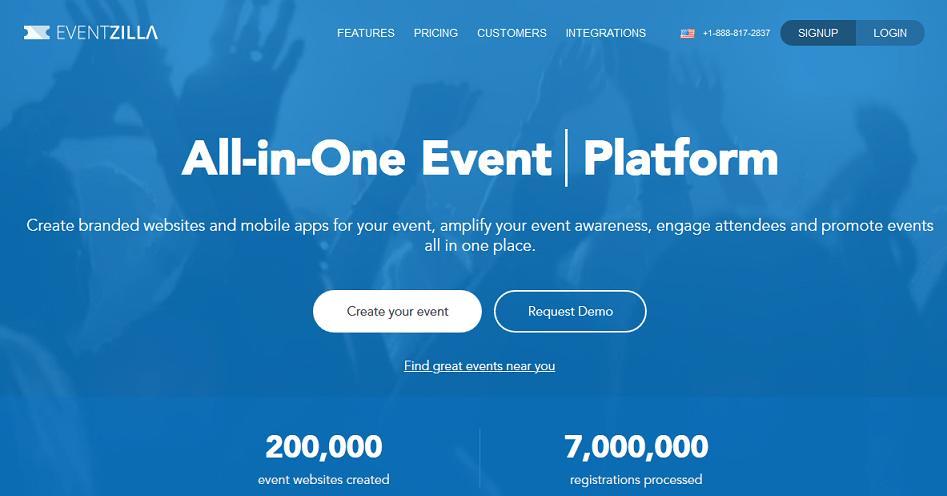 Eventzilla website