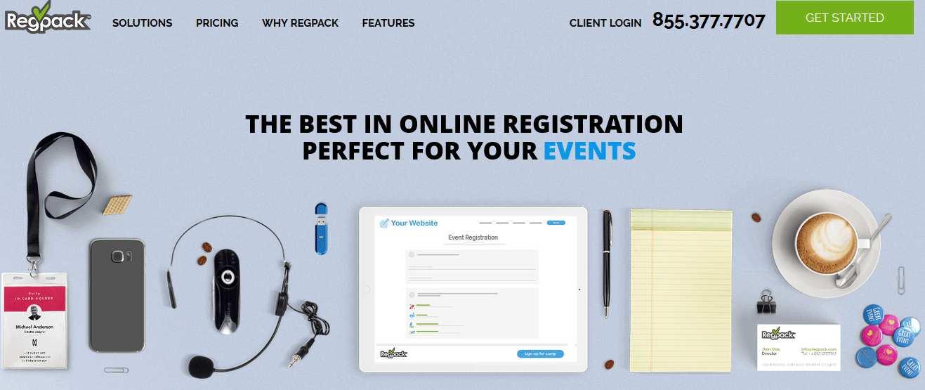 Regpack website