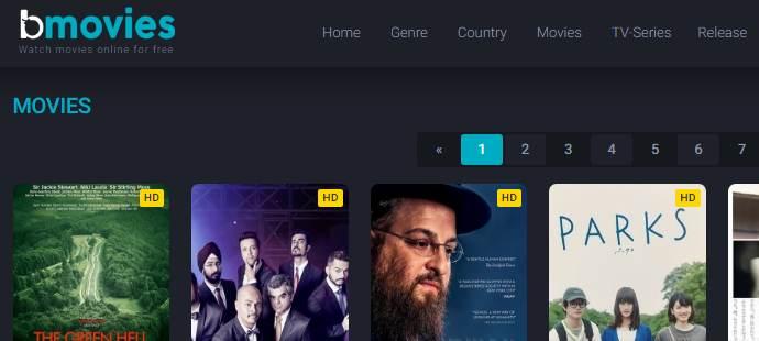 Bmovies website