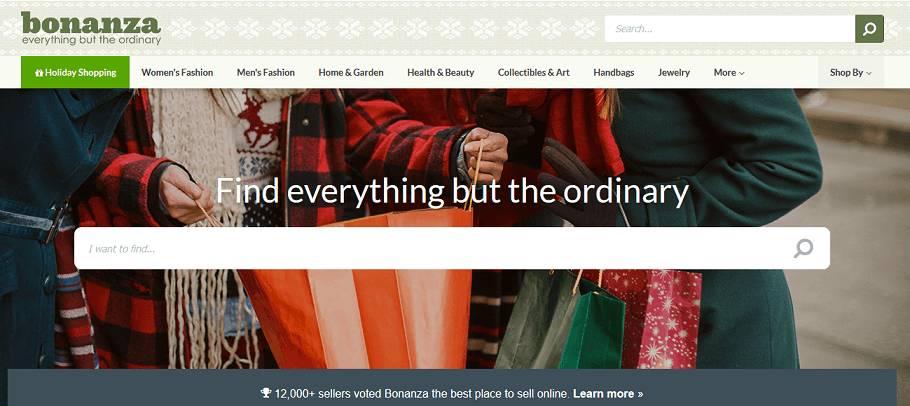 Bonanza website