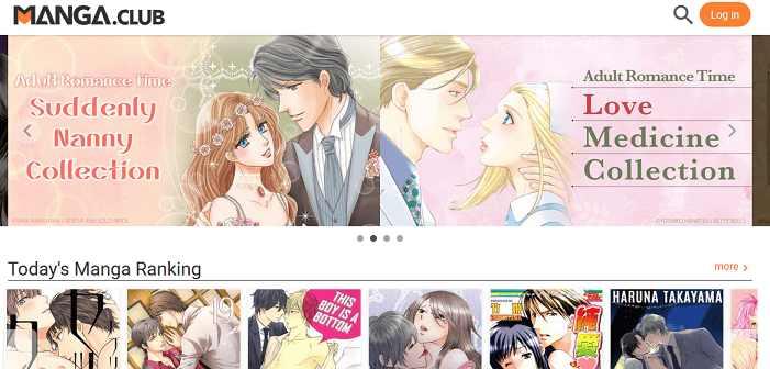 MangaClub website