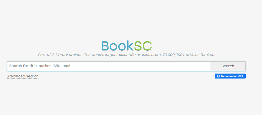 Booksc website