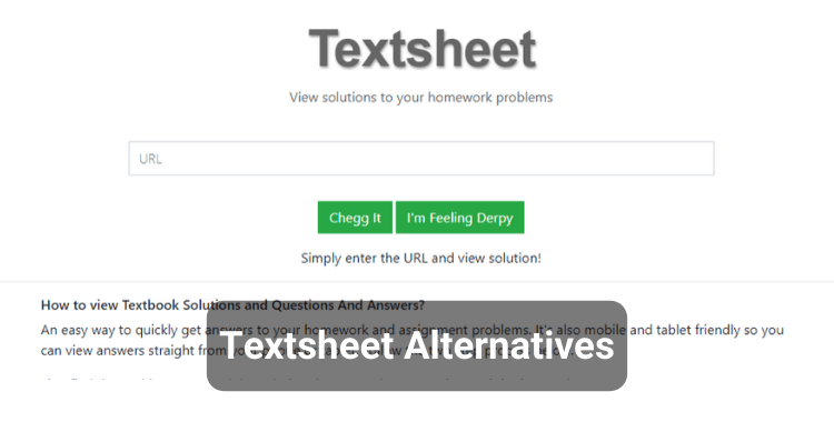 12 Best Textsheet Alternatives for Study
