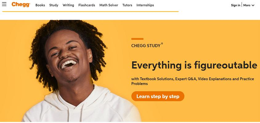 Chegg website