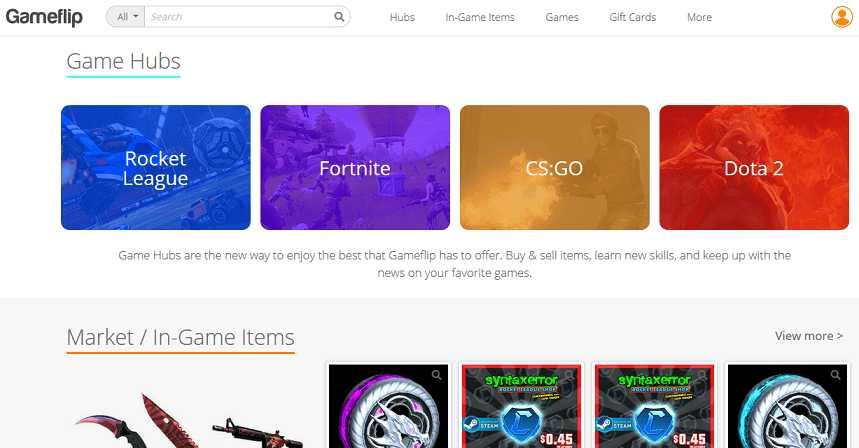 GameFlip website