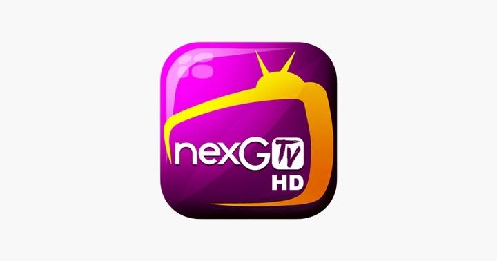 NexG TV HD app