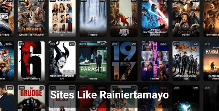 Top 10 Sites Like Rainiertamayo to Watch Latest Movies & TV Shows