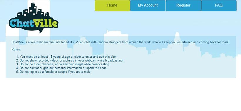 ChatVille website