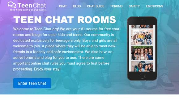 TeenChat website