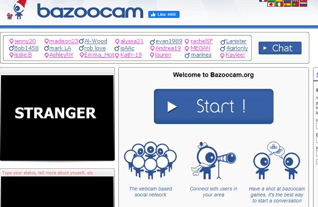 Bazoocam website