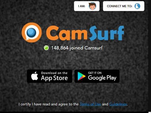 Camsurf website