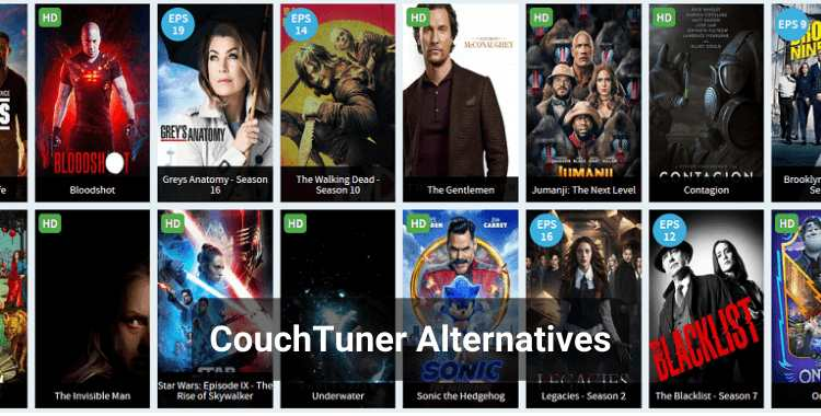 12 Best CouchTuner Alternatives in 2020