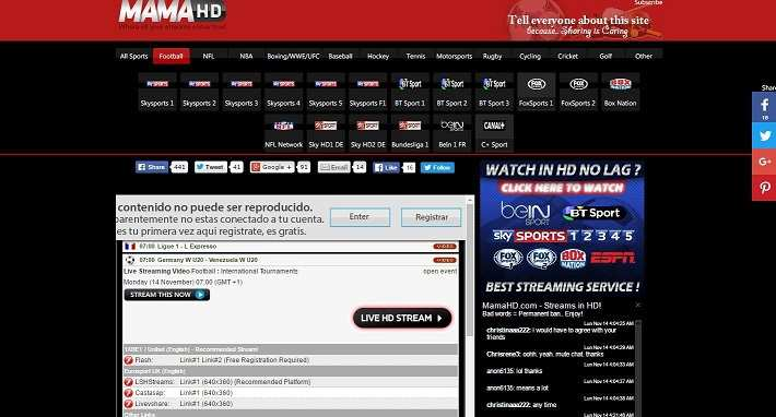 MamaHD website