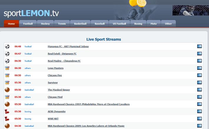 SportLemon website