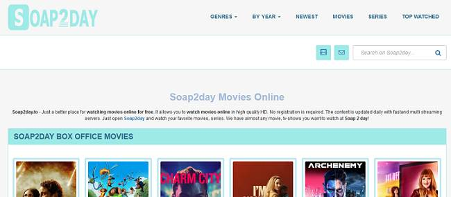Soap2day website