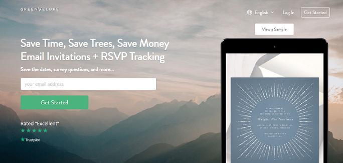 Greenvelope website