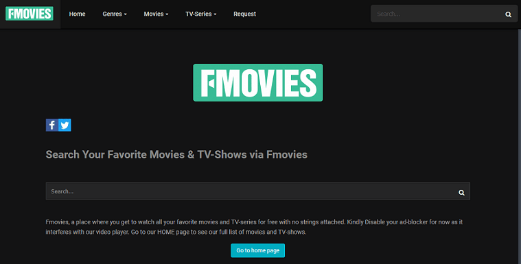 FMovies website
