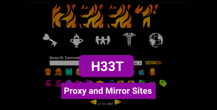 H33T Proxy and Mirror Sites