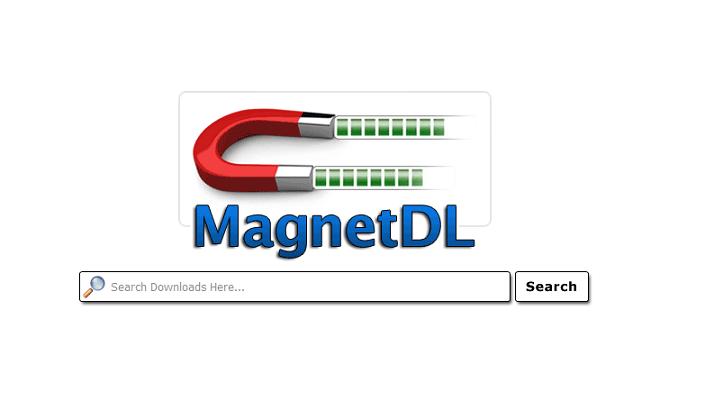MagnetDL webiste