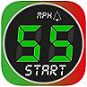 Speedometer 55 GPS Speed & HUD app