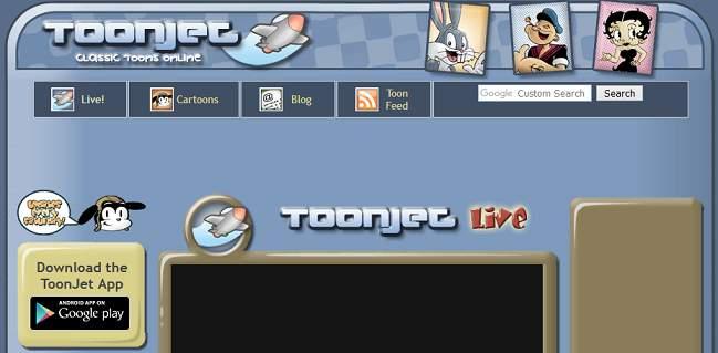 Toonjet website
