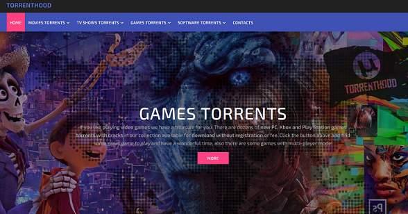 TorrentHood website