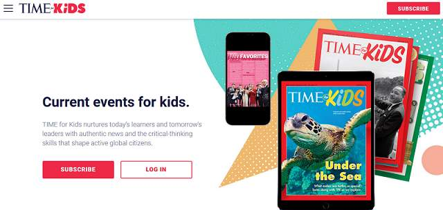 Time For Kids website
