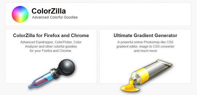 ColorZilla website