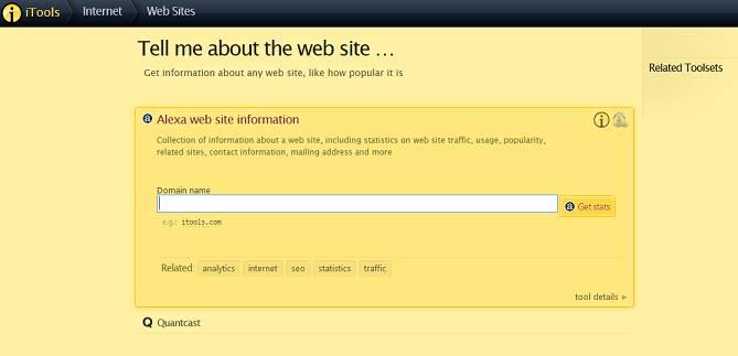 iTools website