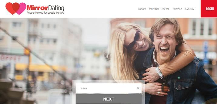 Mirror Dating website