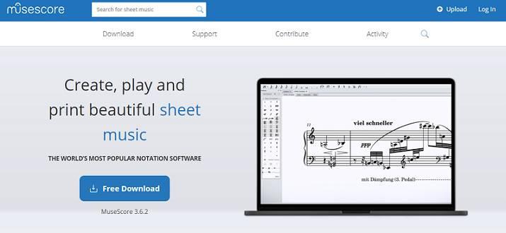 MuseScore software