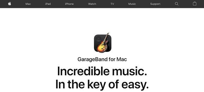 GarageBand beat making software