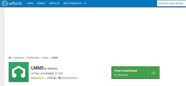 LMMS software