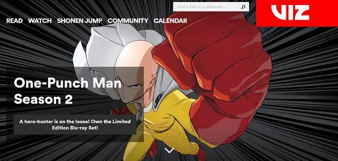 Viz Anime Streaming Site