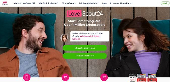 LoveScout24 dating sites in Germany